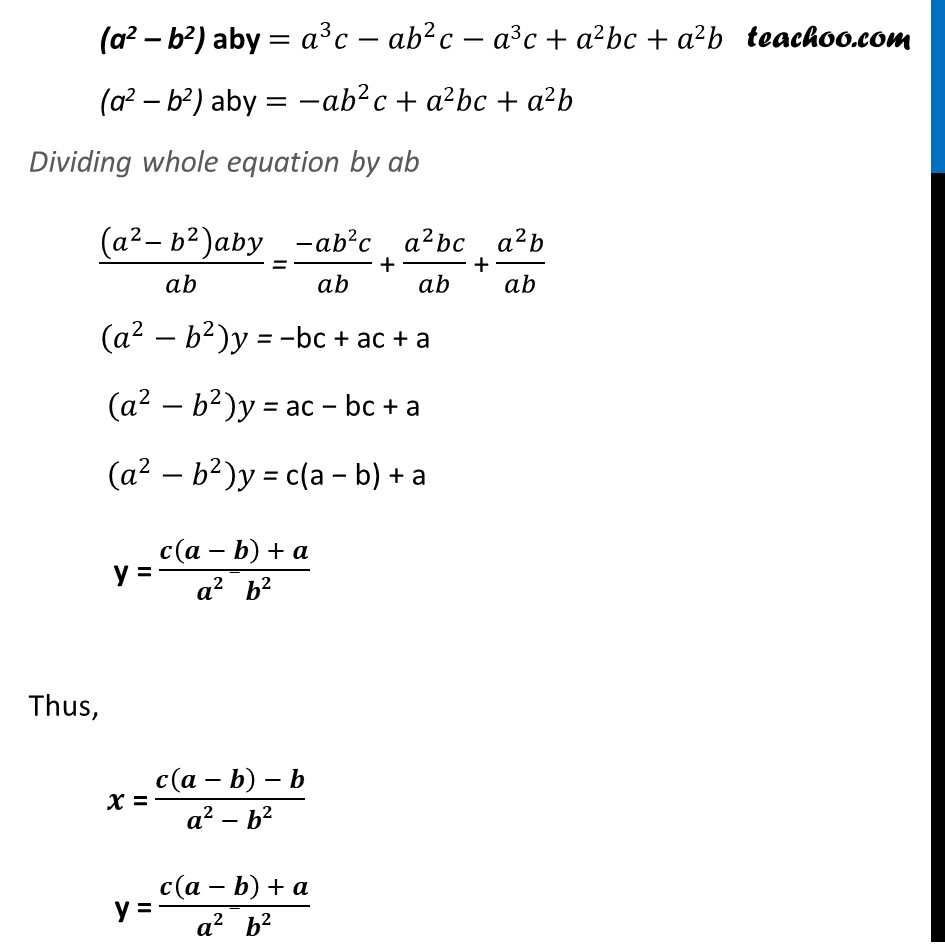 Ex 3.7, 7 (Optional) - Chapter 3 Class 10 Pair of Linear Equations in Two Variables - Part 9