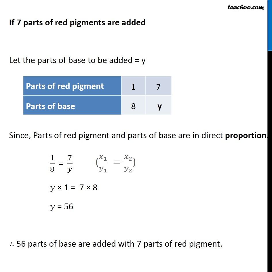 Ex 13.1, 2 - Chapter 13 Class 8 Direct and Inverse Proportions - Part 3