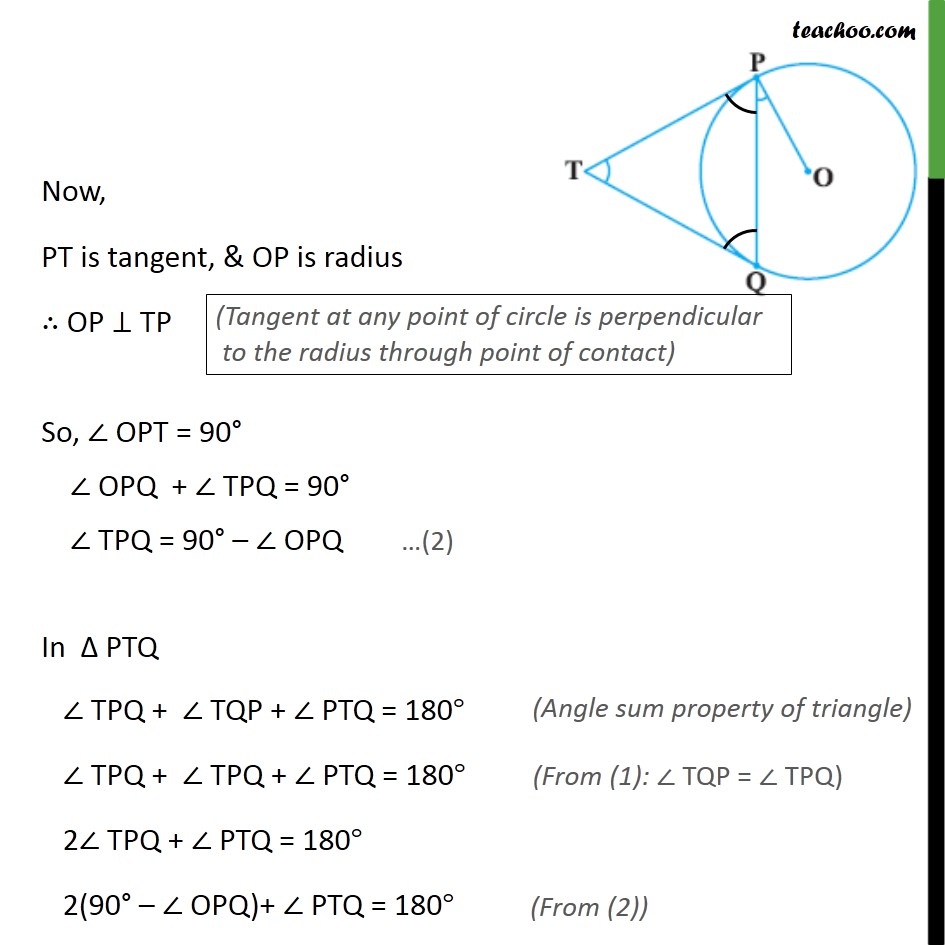 Example 2 - Chapter 10 Class 10 Circles - Part 2