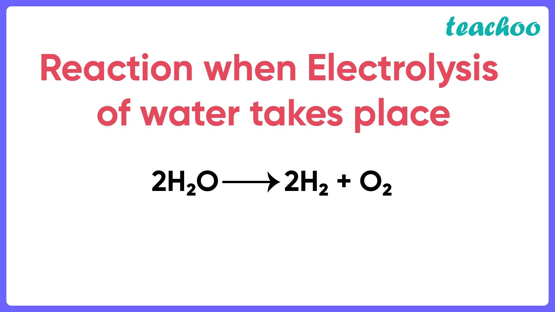Reaction when Electrolysis of water takes place - Teachoo.jpg