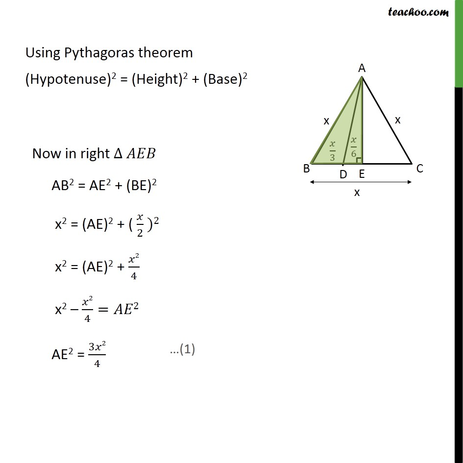 Ex 6.5, 15 - Chapter 6 Class 10 Triangles - Part 4