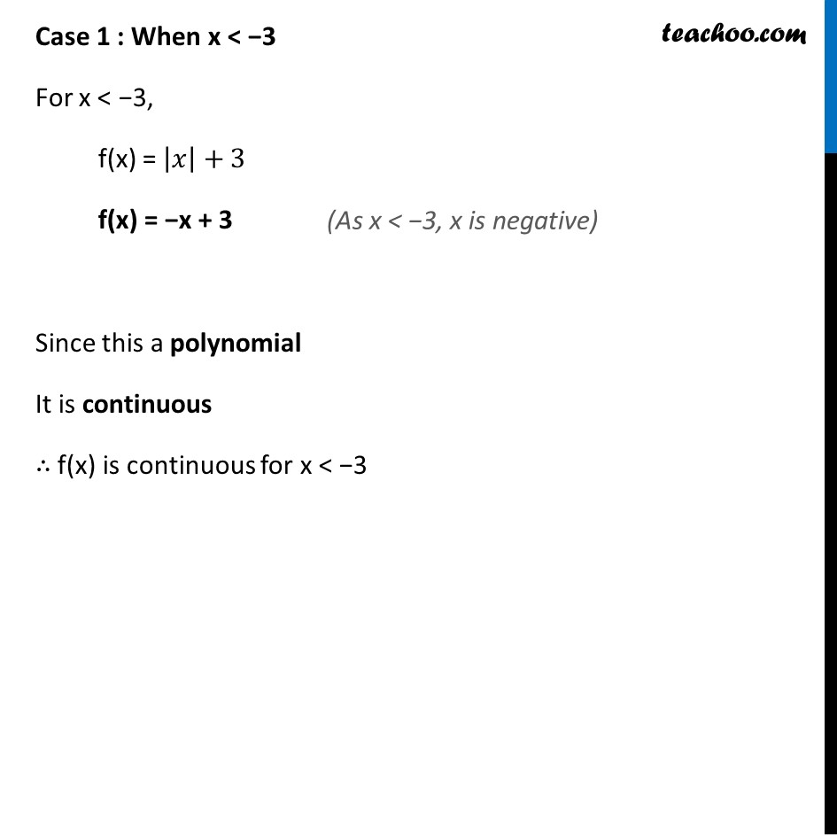 Ex 5.1 ,7 - Chapter 5 Class 12 Continuity and Differentiability - Part 2