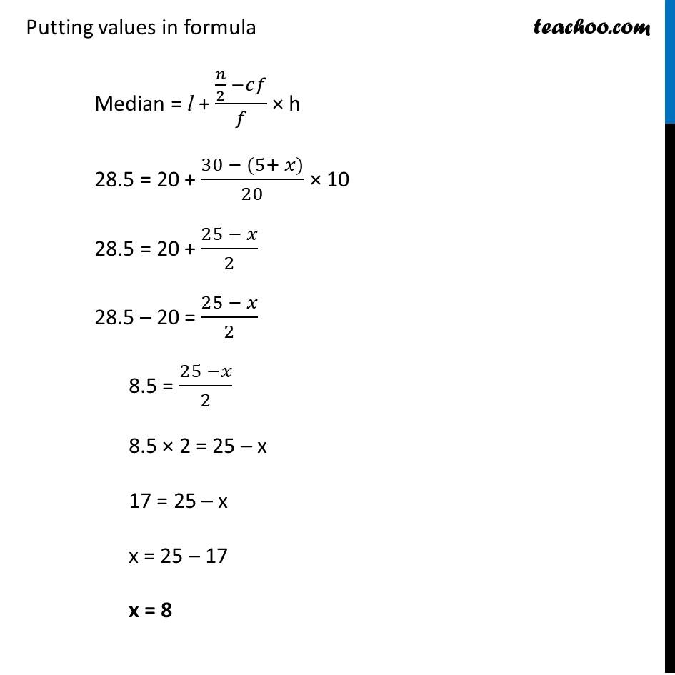 Ex 14.3, 2 - Chapter 14 Class 10 Statistics - Part 3