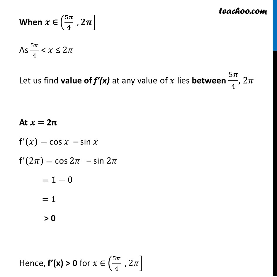 Example 13 - Chapter 6 Class 12 Application of Derivatives - Part 5
