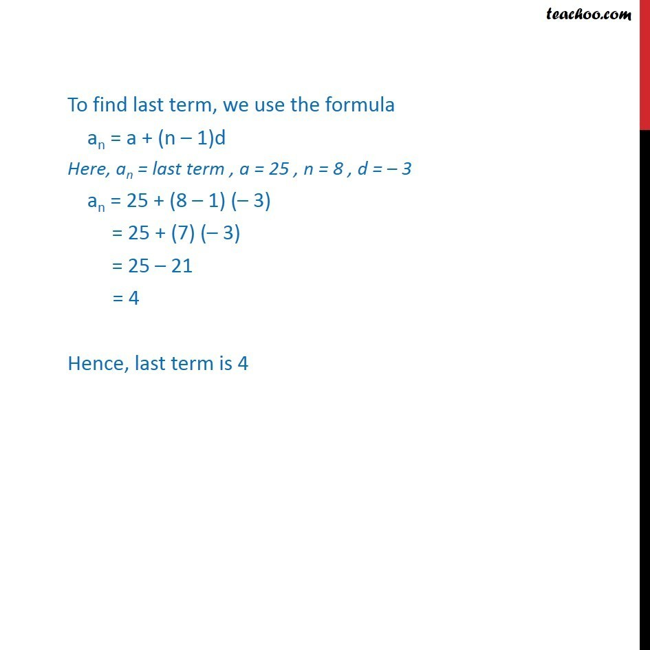 Ex 9.2, 6 - Chapter 9 Class 11 Sequences and Series - Part 3