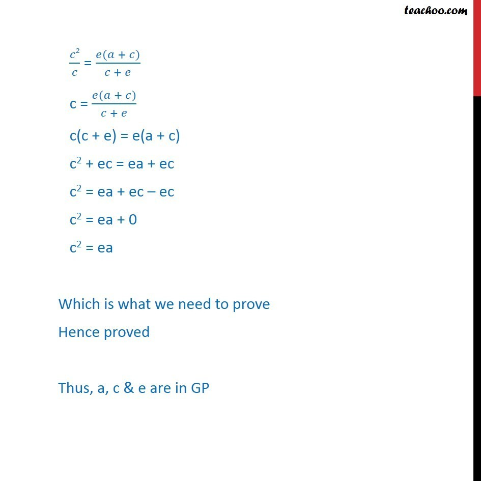 Misc 20 - Chapter 9 Class 11 Sequences and Series - Part 4