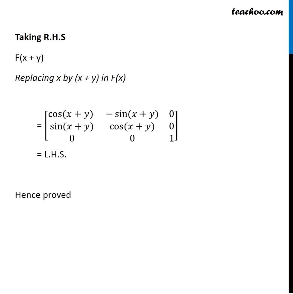 Ex 3.2, 13 - Chapter 3 Class 12 Matrices - Part 4