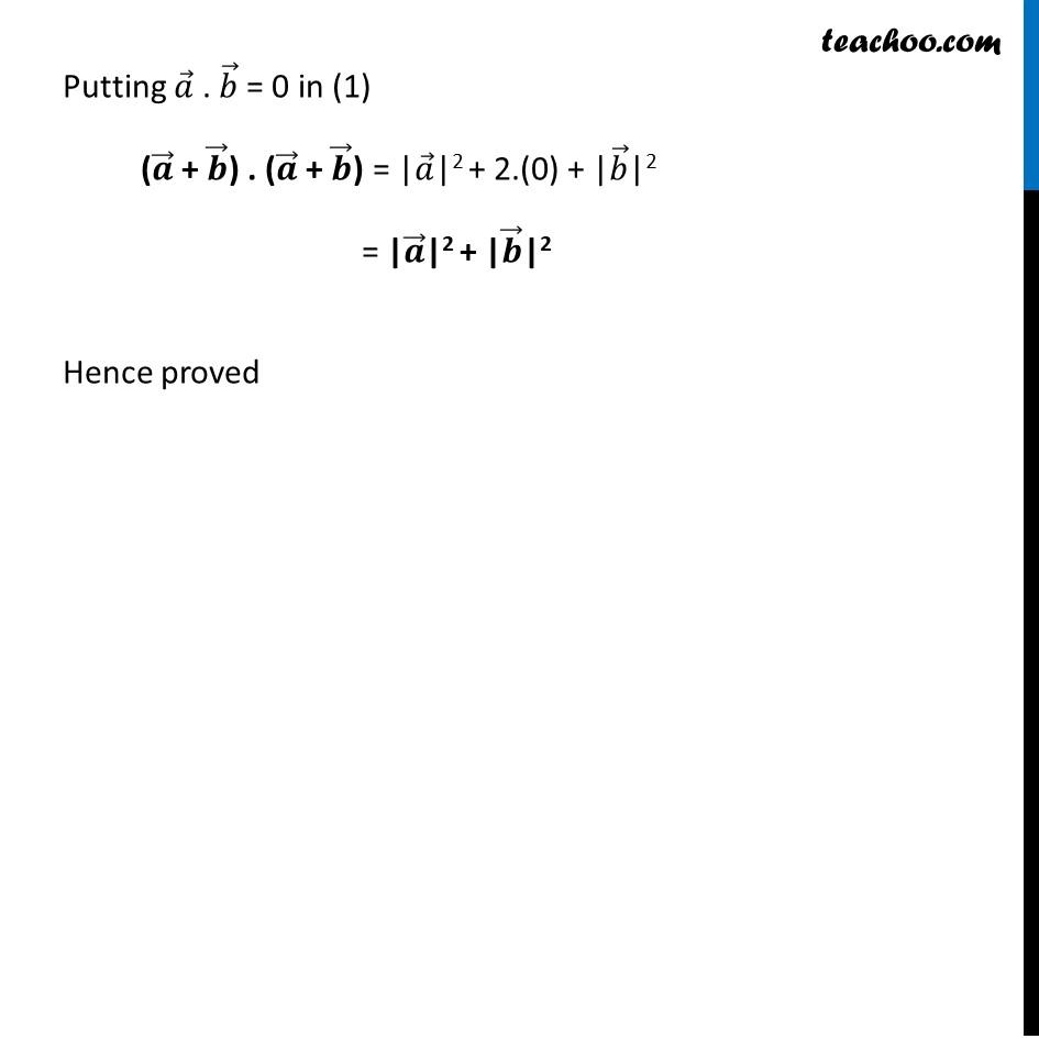 Misc 15 - Chapter 10 Class 12 Vector Algebra - Part 2