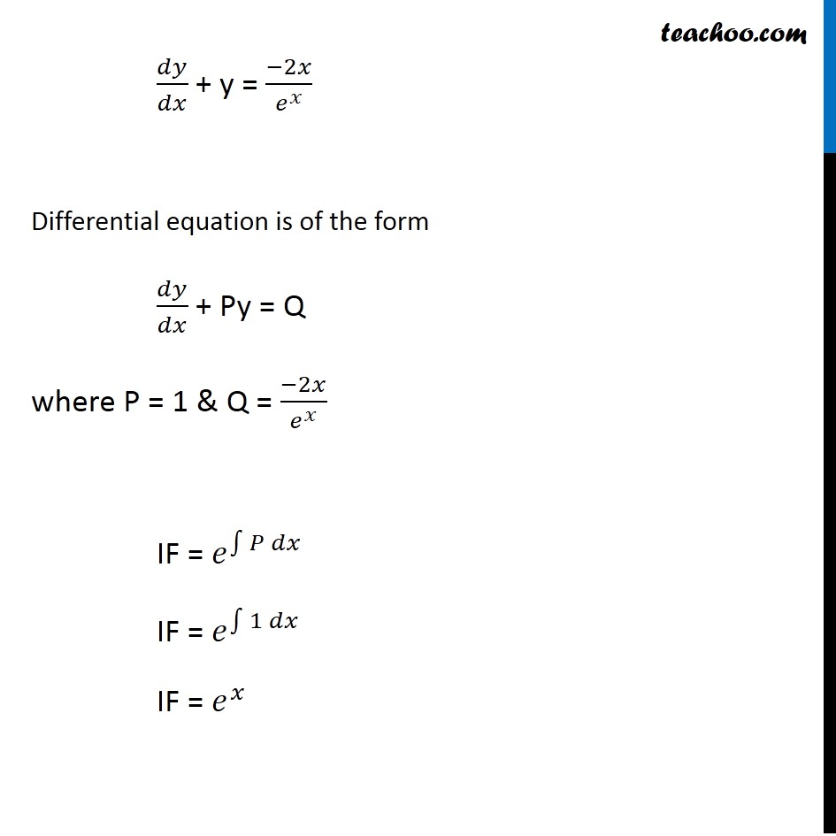 Misc 18 - Chapter 9 Class 12 Differential Equations - Part 2