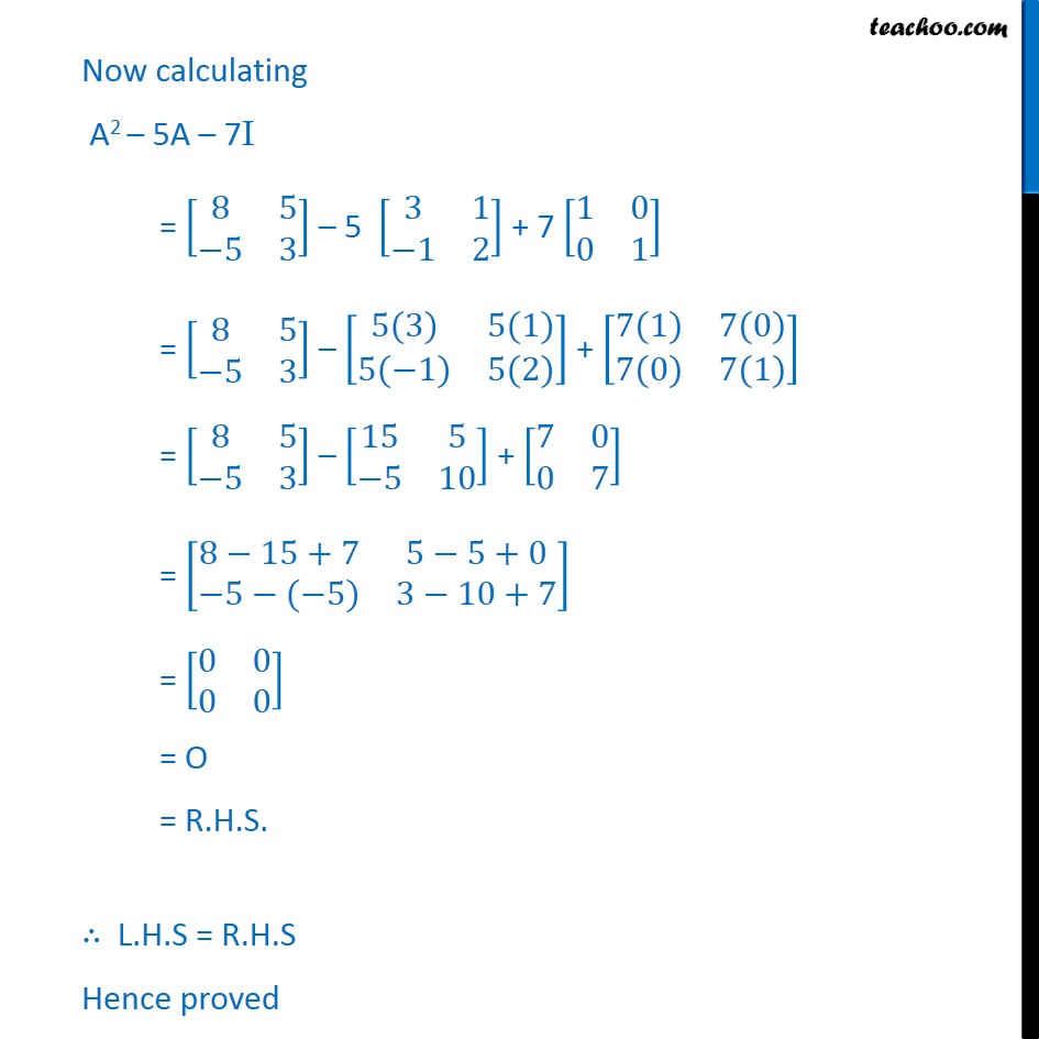 Misc. 8 - Chapter 3 Class 12 Matrices - Part 2