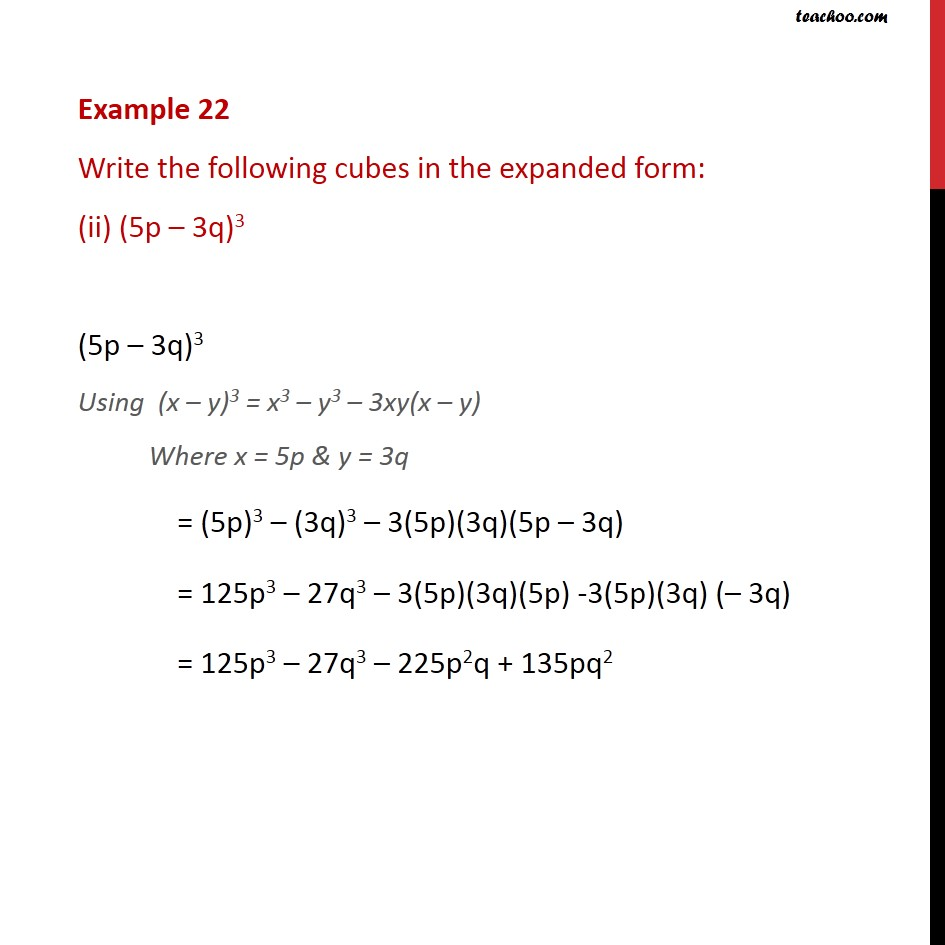 Example 22 - Chapter 2 Class 9 Polynomials - Part 2
