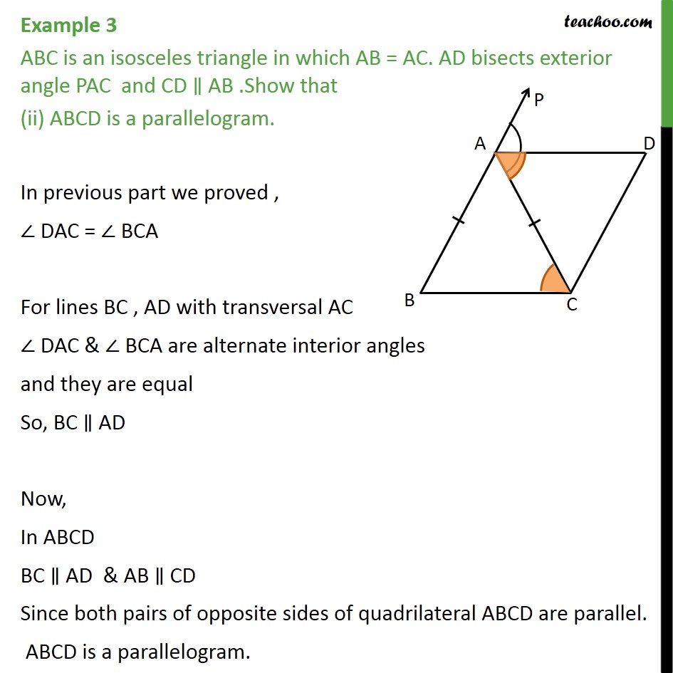 Example 3 - Chapter 8 Class 9 Quadrilaterals - Part 3