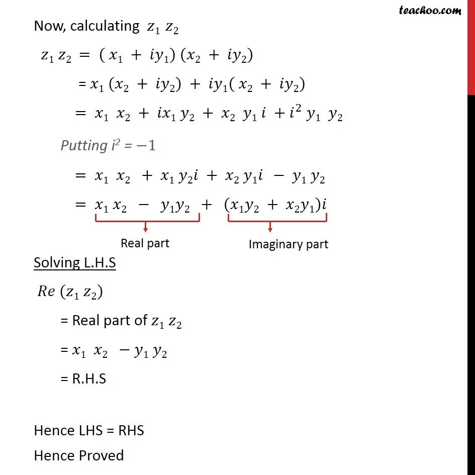 Misc 2 - Chapter 5 Class 11 Complex Numbers - Part 2