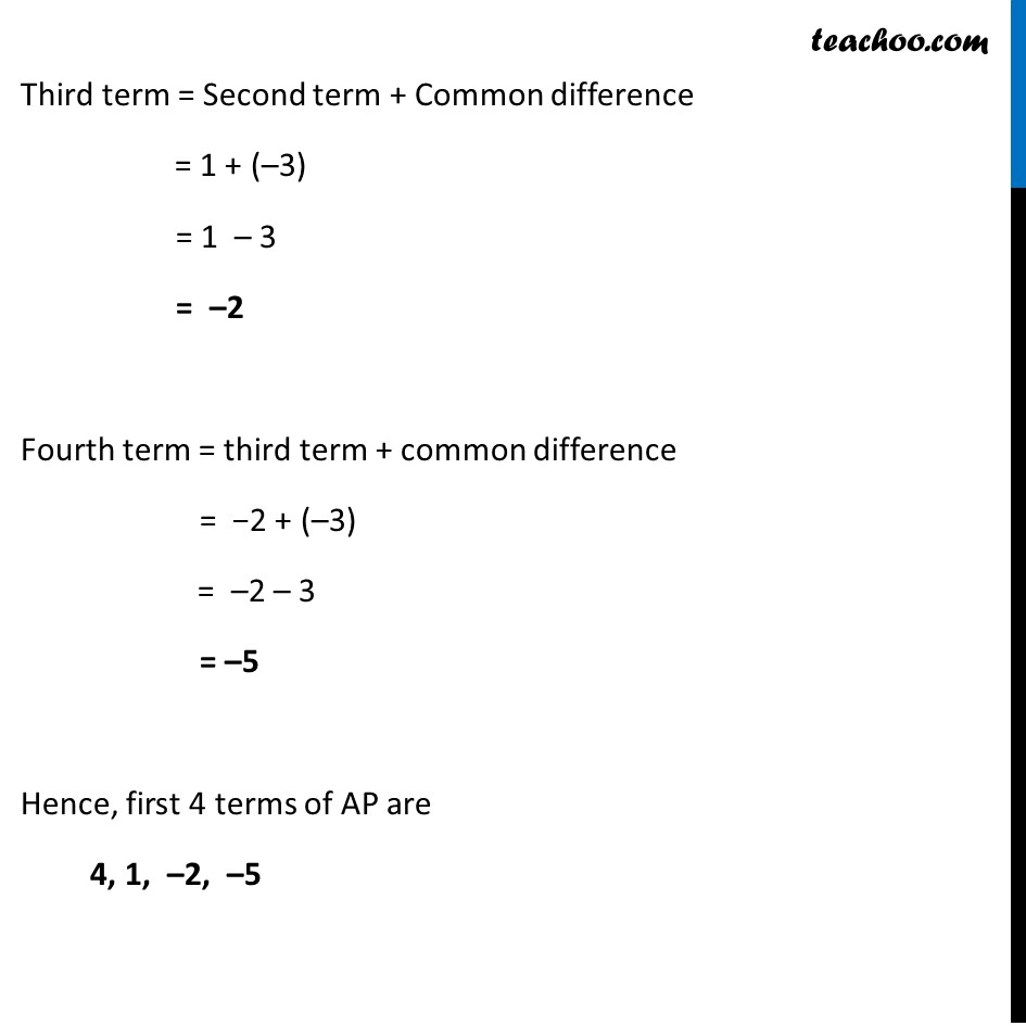 Ex 5.1, 2 - Chapter 5 Class 10 Arithmetic Progressions - Part 6