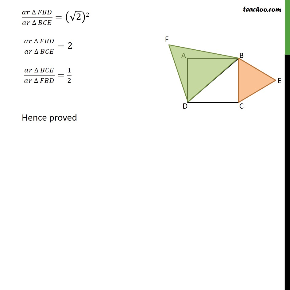 Ex 6.4, 7 - Chapter 6 Class 10 Triangles - Part 6
