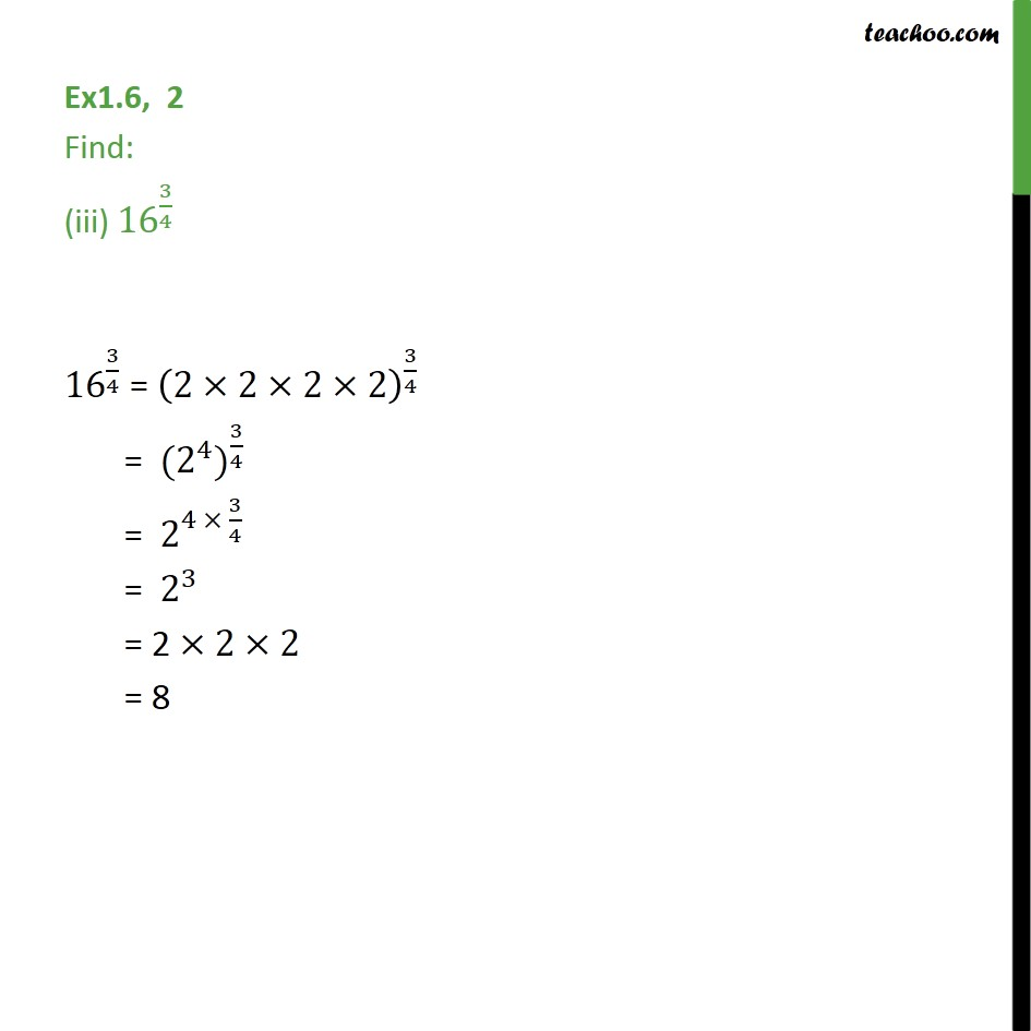Ex 1.6,2 - Chapter 1 Class 9 Number Systems - Part 3