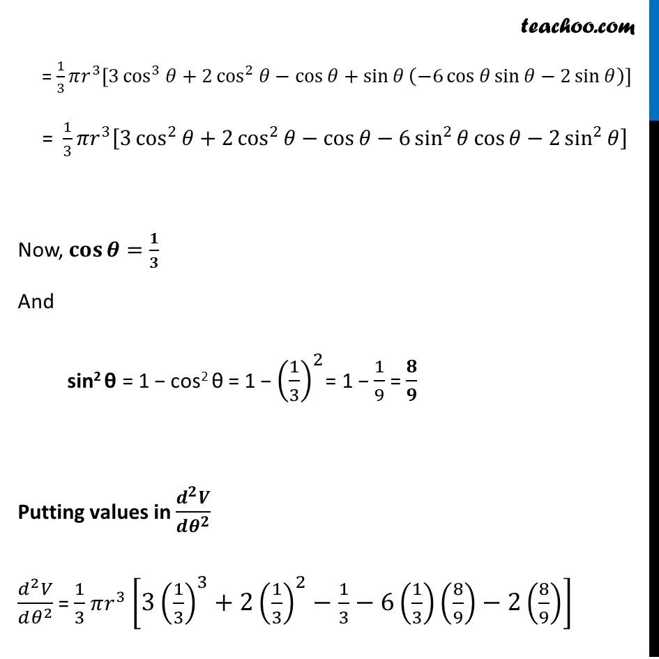 Misc 15 - Chapter 6 Class 12 Application of Derivatives - Part 6