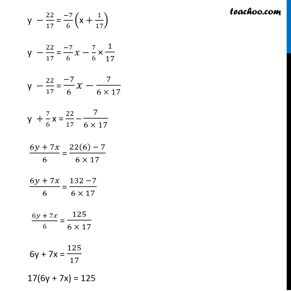 Misc 24 - Chapter 10 Class 11 Straight Lines - Part 8