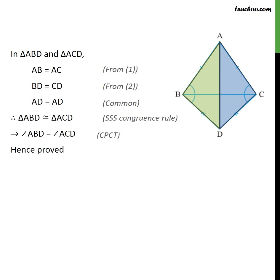 Ex 7.2, 5 - Chapter 7 Class 9 Triangles - Part 2