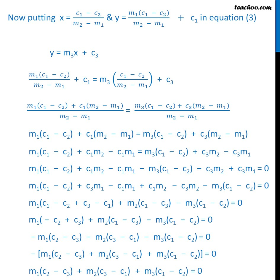 Misc 10 - Chapter 10 Class 11 Straight Lines - Part 3