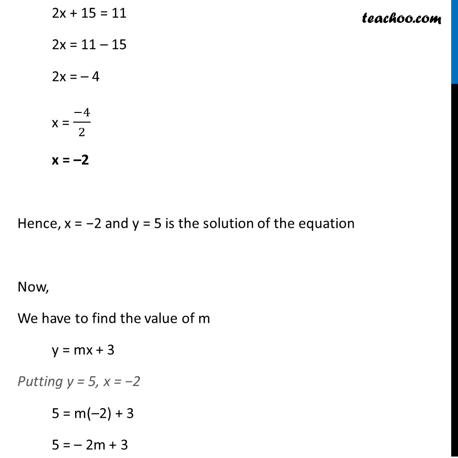 Ex 3.3, 2 - Chapter 3 Class 10 Pair of Linear Equations in Two Variables - Part 3