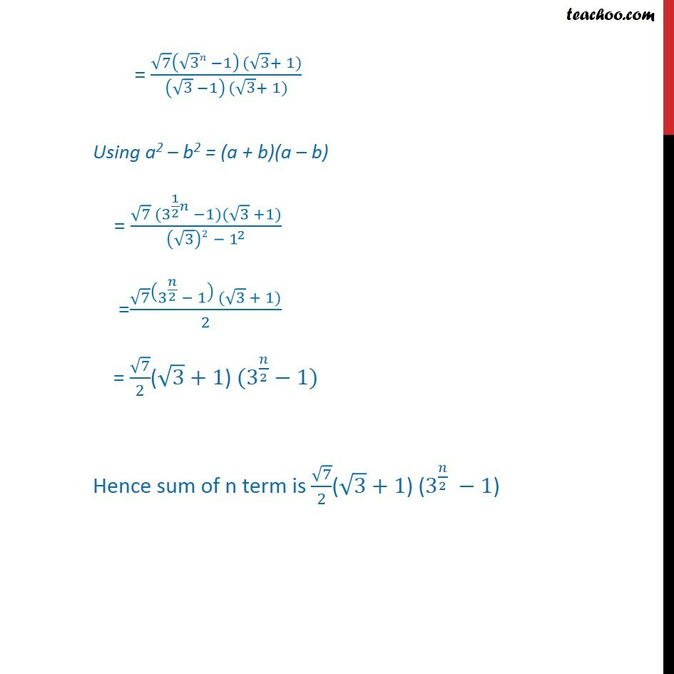 Ex 9.3, 8 - Chapter 9 Class 11 Sequences and Series - Part 3