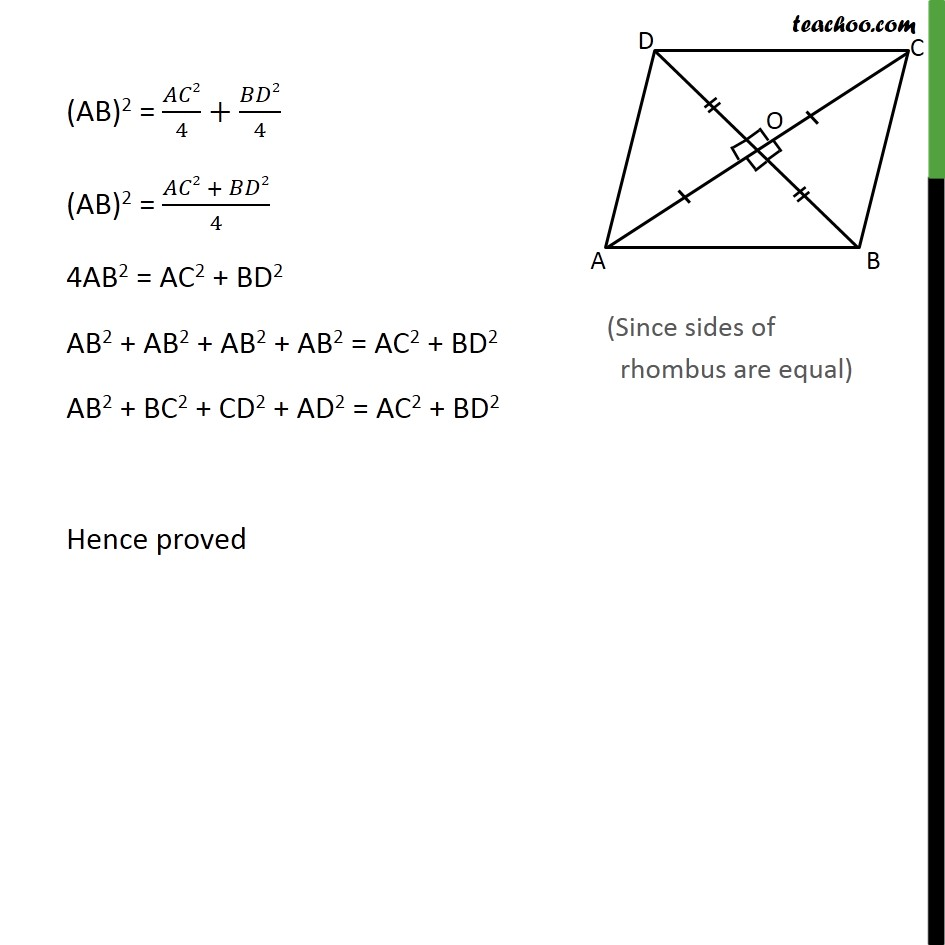 Ex 6.5, 7 - Chapter 6 Class 10 Triangles - Part 3