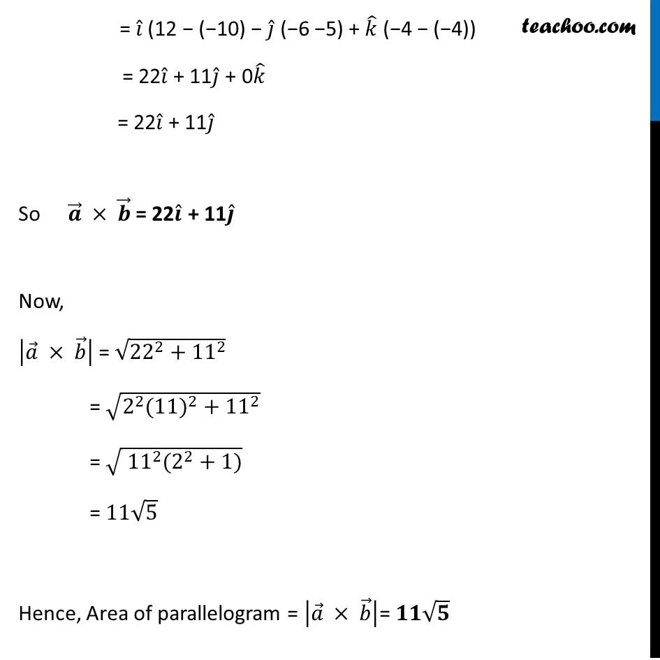 Misc 10 - Chapter 10 Class 12 Vector Algebra - Part 3