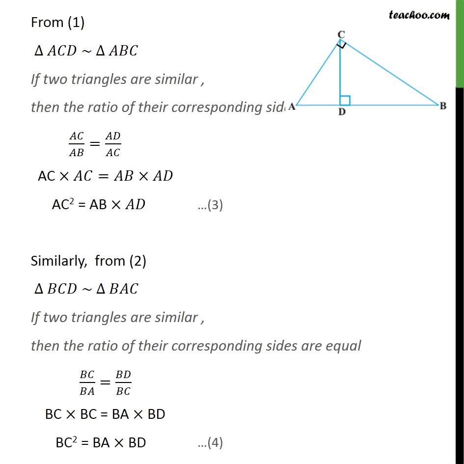 Example 10 - Chapter 6 Class 10 Triangles - Part 2