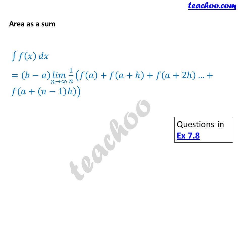 8 Area as a sum - Chapter 7 Class 12.JPG