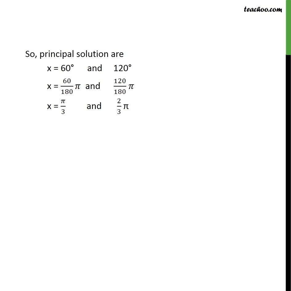 Example 18 - Chapter 3 Class 11 Trigonometric Functions - Part 2