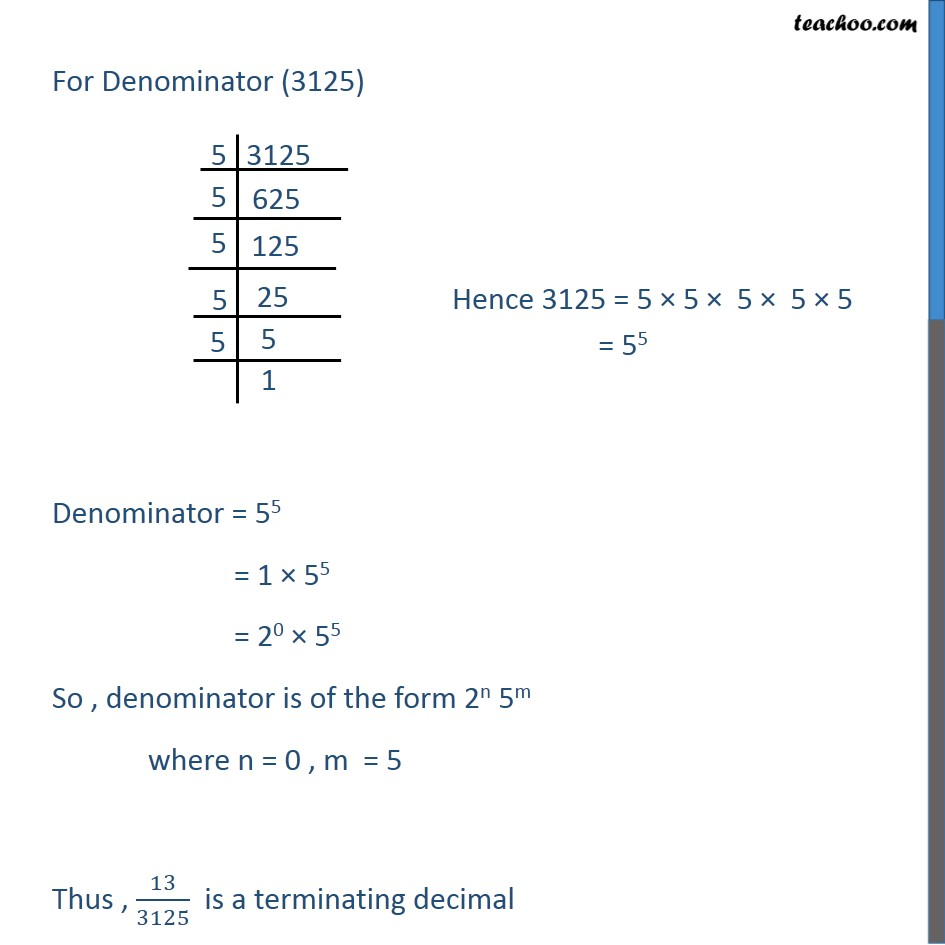 Ex 1.4, 1 - Chapter 1 Class 10 Real Numbers - Part 2
