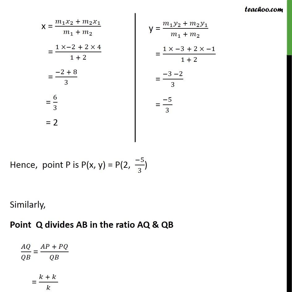 Ex 7.2, 2 - Chapter 7 Class 10 Coordinate Geometry - Part 3