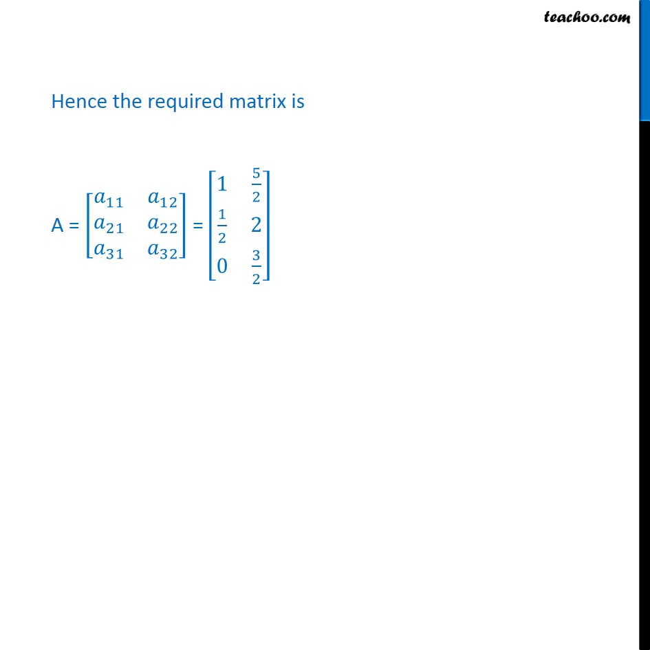 Example 3 - Chapter 3 Class 12 Matrices - Part 3