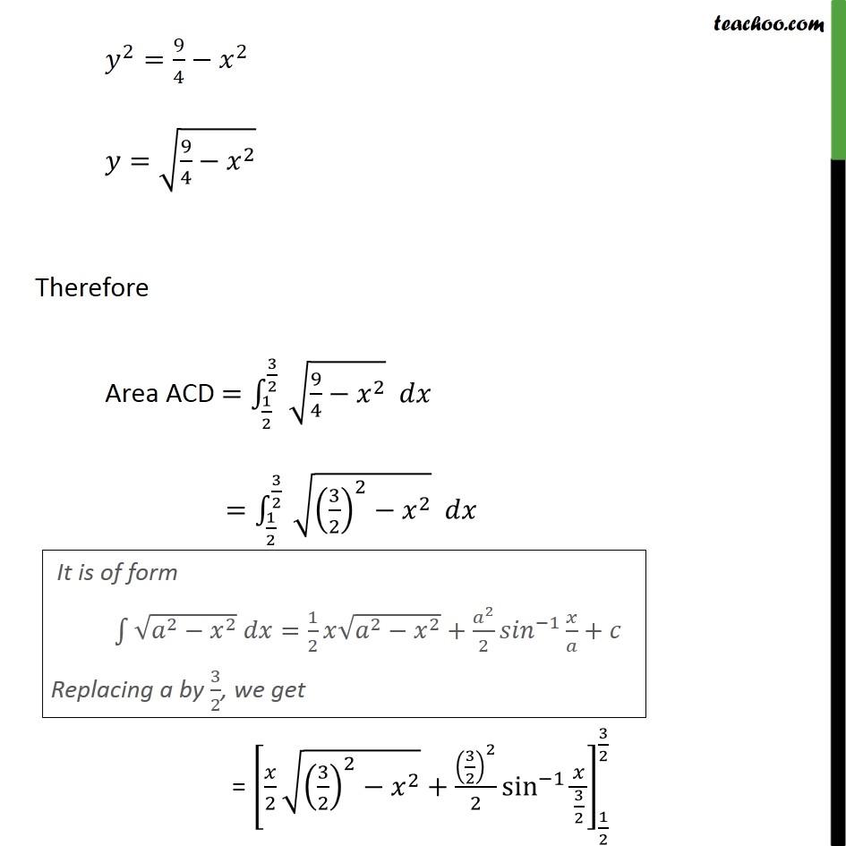 Misc 15 - Chapter 8 Class 12 Application of Integrals - Part 6