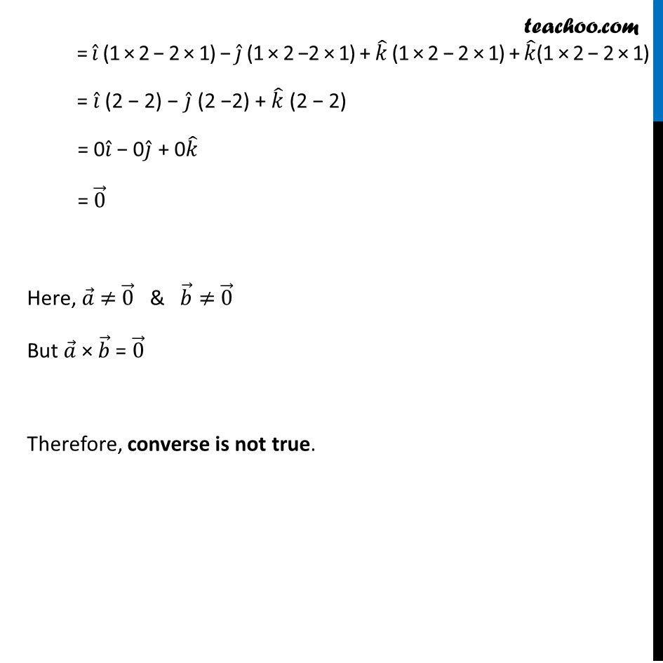 Ex 10.4, 8 - Chapter 10 Class 12 Vector Algebra - Part 2