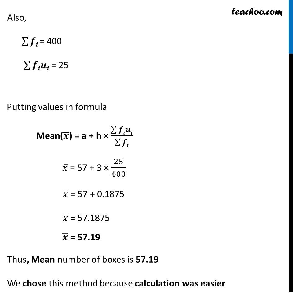 Ex 14.1, 5 - Chapter 14 Class 10 Statistics - Part 4