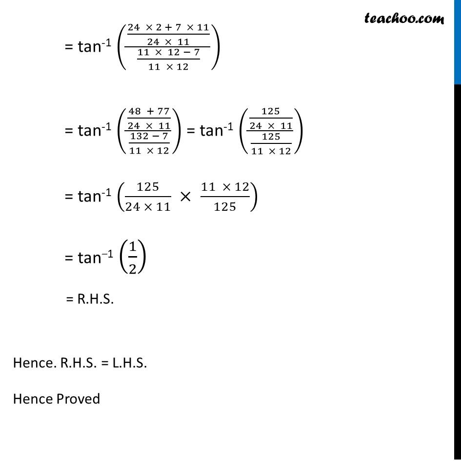 Ex 2.2, 3 - Chapter 2 Class 12 Inverse Trigonometric Functions - Part 2