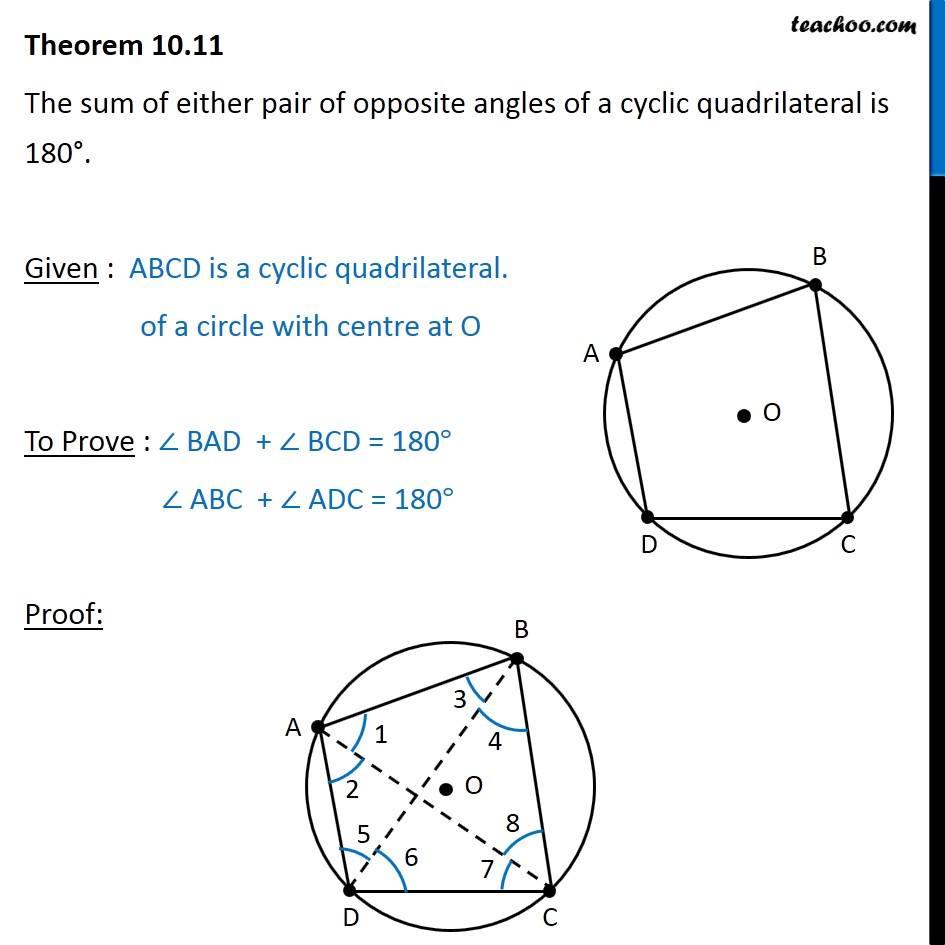 Worksheet On Cyclic Quadrilaterals - Geotwitter Kids ...