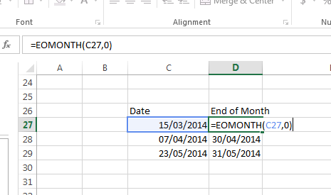 Use of EOMONTH Command in Data Validation - Data Validation