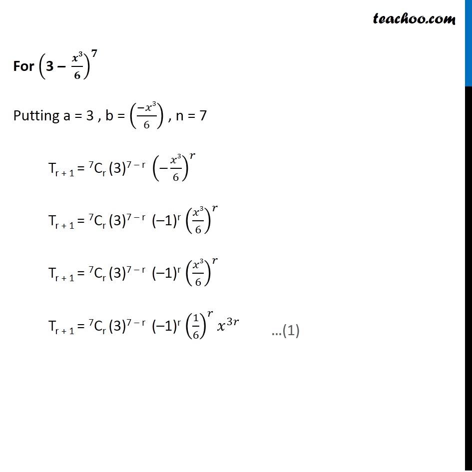 Ex 8.2,7 - Chapter 8 Class 11 Binomial Theorem - Part 2