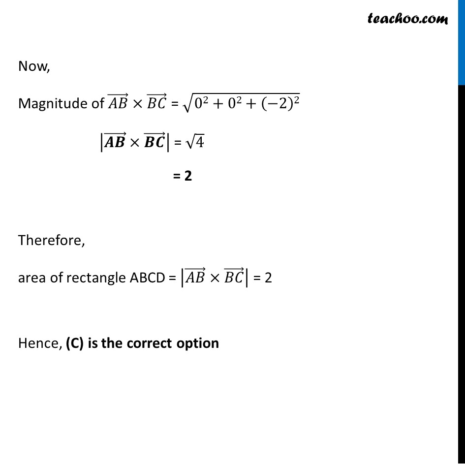 Ex 10.4, 12 - Chapter 10 Class 12 Vector Algebra - Part 3
