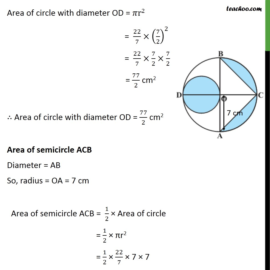 Ex 12.3, 9 - Chapter 12 Class 10 Areas related to Circles - Part 2