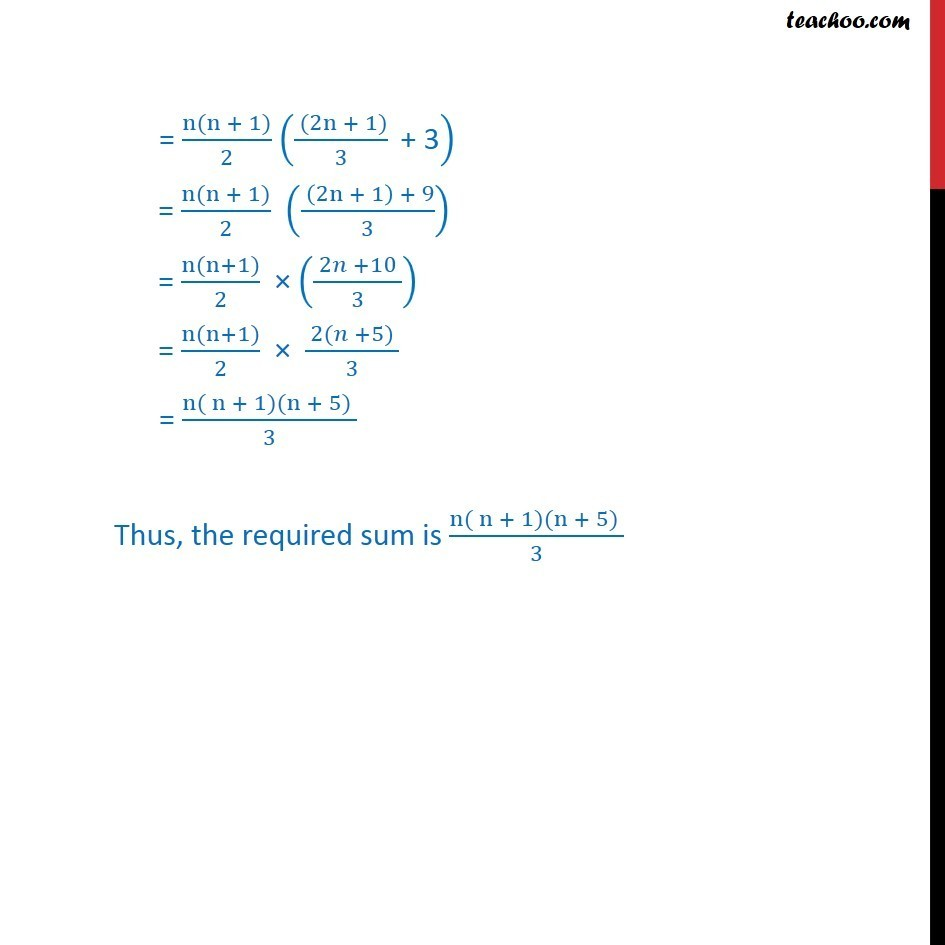 Example 20 - Chapter 9 Class 11 Sequences and Series - Part 2