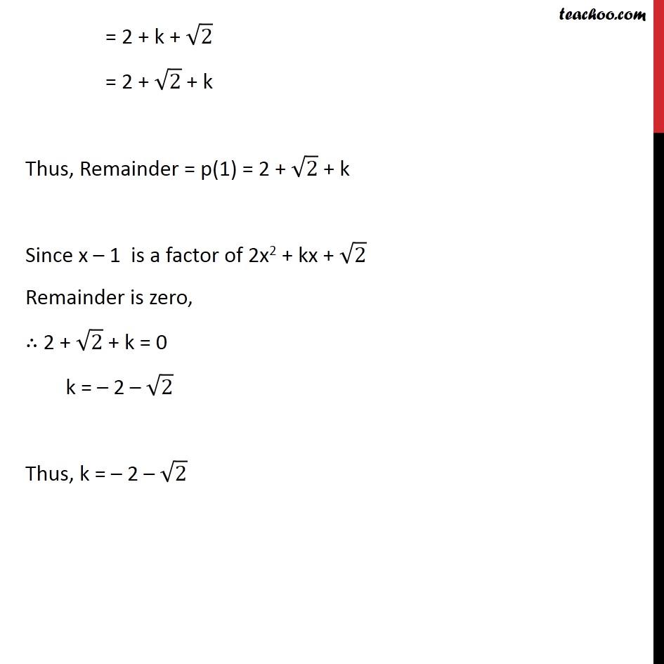 Ex 2.4,3 - Chapter 2 Class 9 Polynomials - Part 4