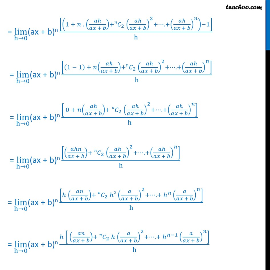 Misc 12  - Chapter 13 Class 11 Limits and Derivatives - Part 3