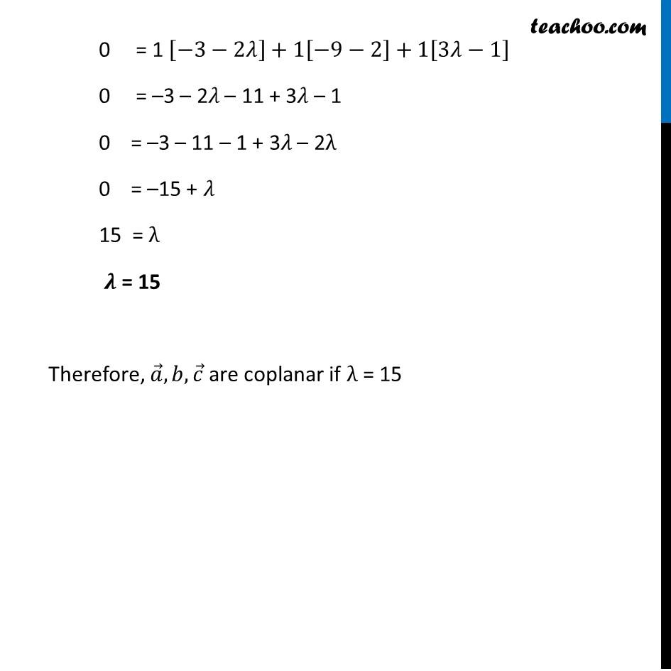 Ex 10.5, 3 (Supplementary NCERT) - Chapter 10 Class 12 Vector Algebra - Part 2