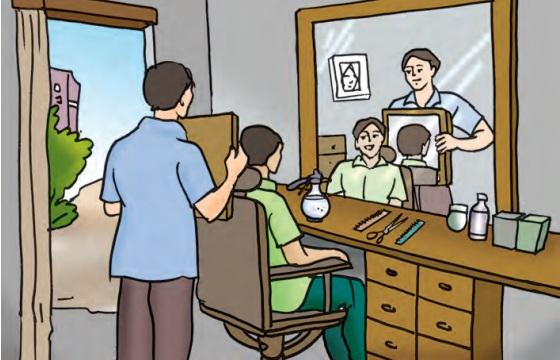 Barber Shop Mirrors - Teachoo.jpg
