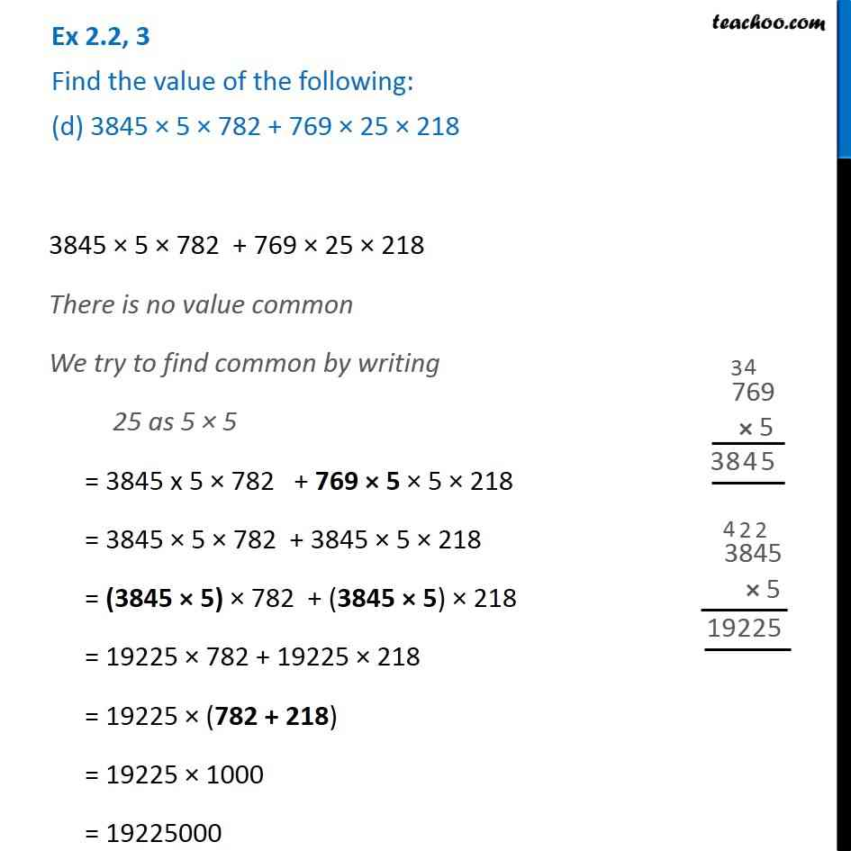 Ex 2.2, 3 - Chapter 2 Class 6 Whole Numbers - Part 4