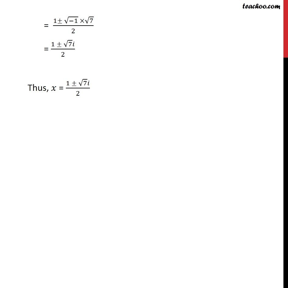 Ex 5.3, 6 - Chapter 5 Class 11 Complex Numbers - Part 2